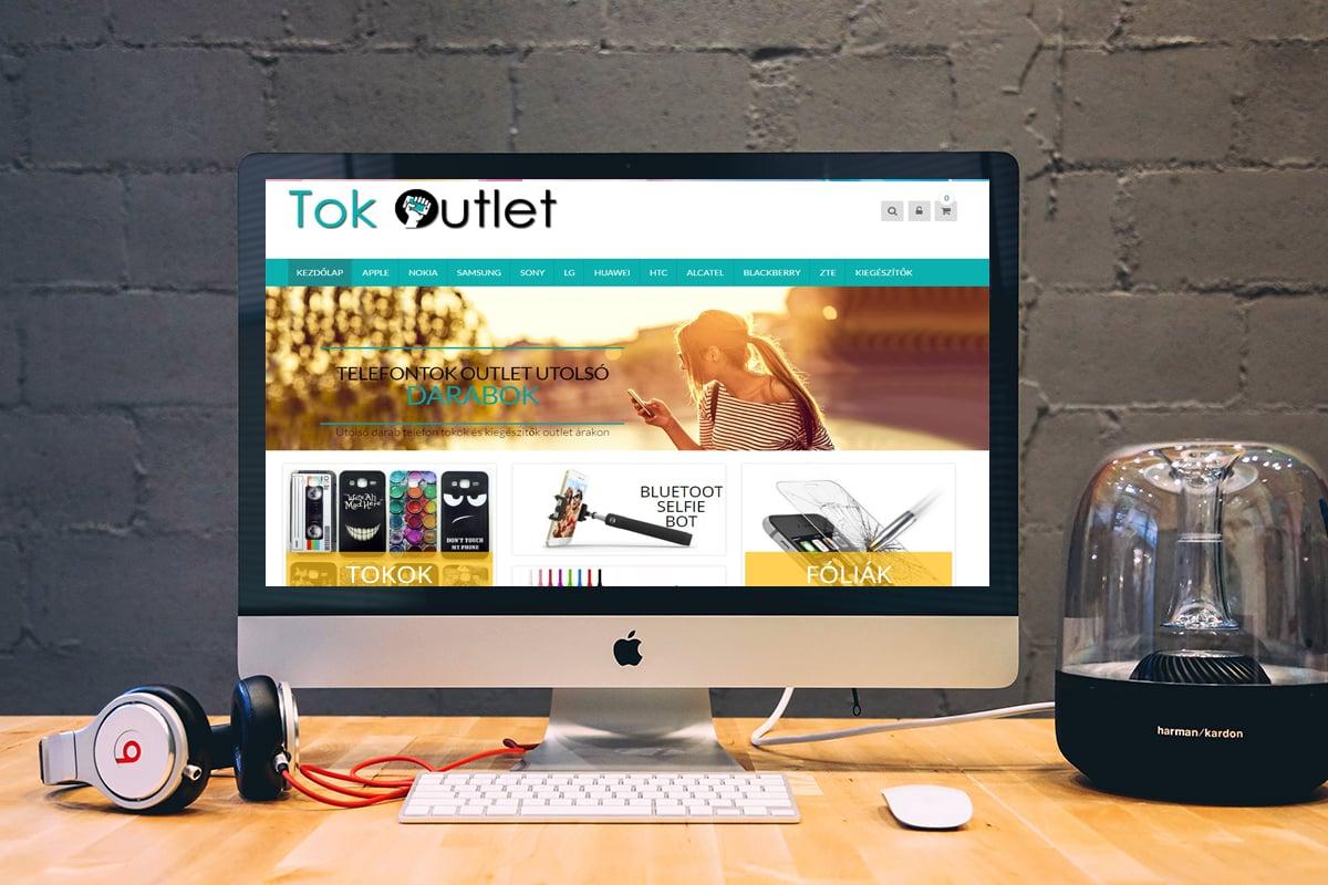 Telefontok Outlet weboldal