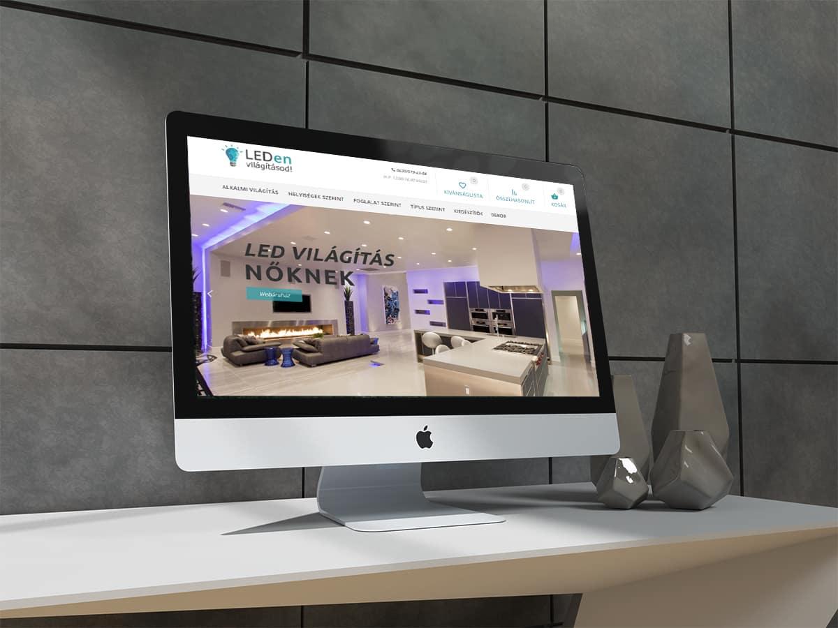 LEDen Világításod weboldal