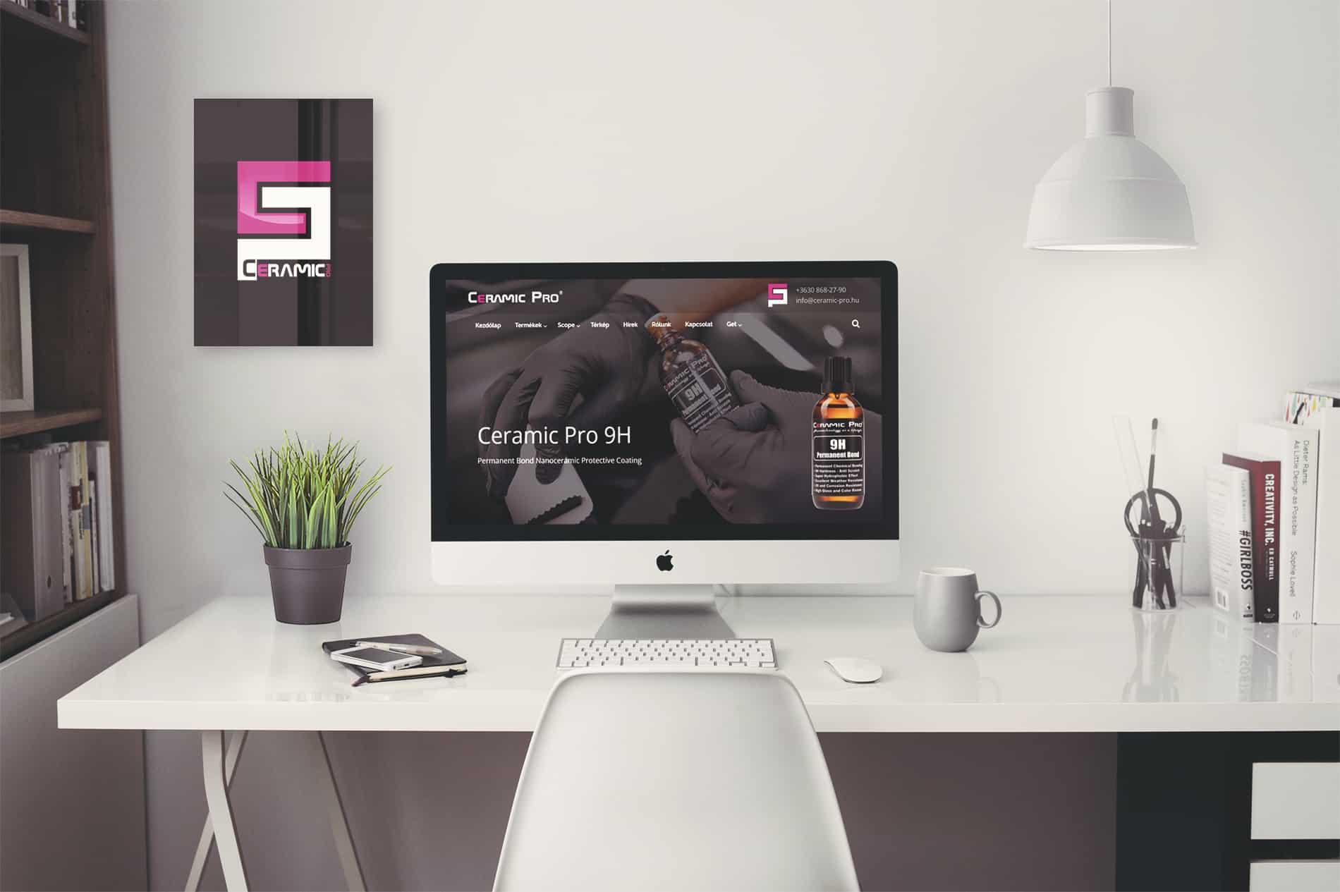 Ceramic-Pro weboldal