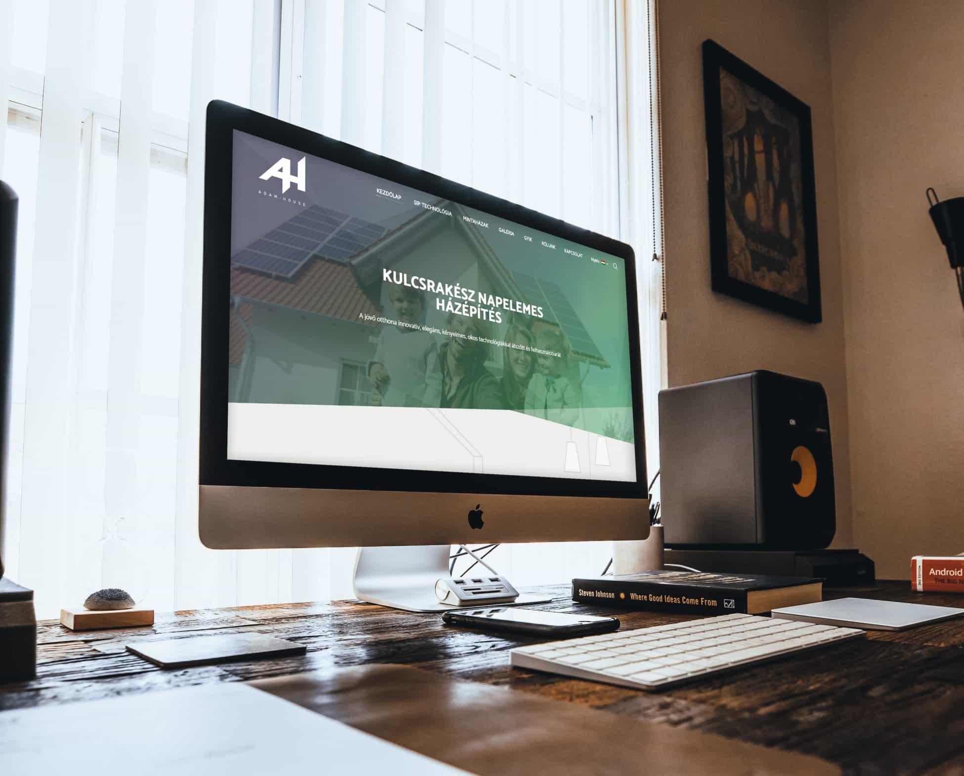 Adam House weboldal