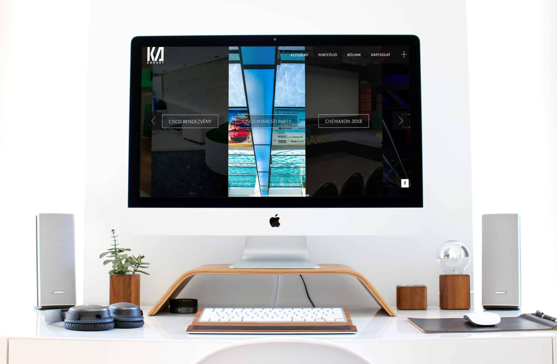 Kodart weboldal készítés