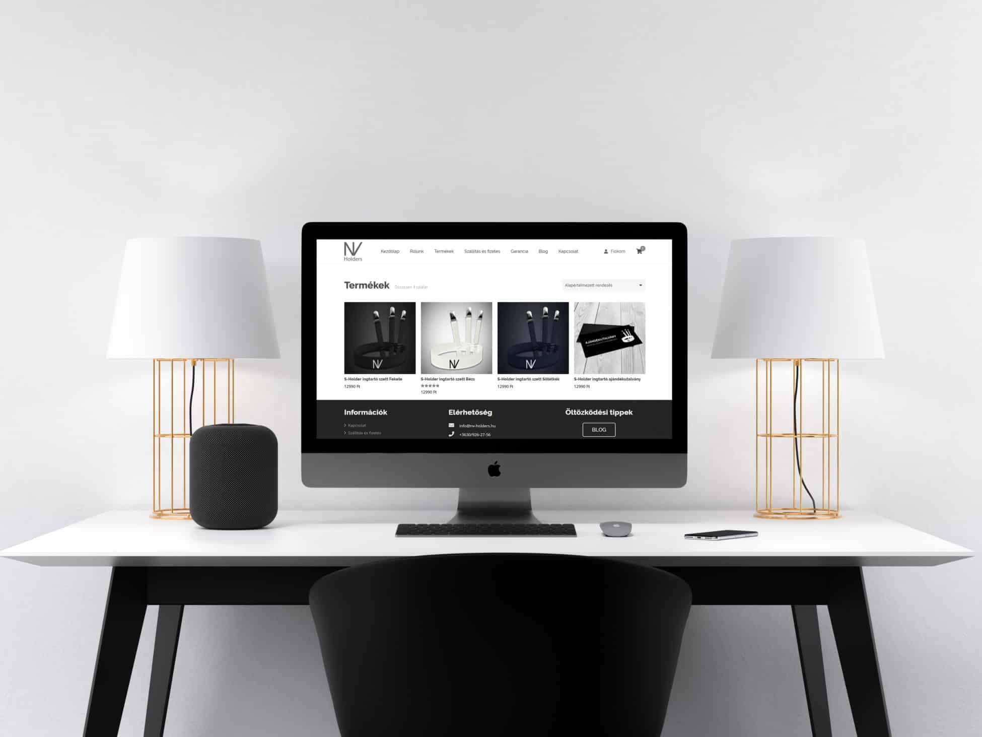 NV Holders weboldal